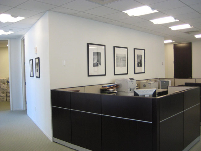 Corporate picture installation office space