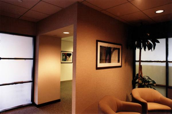 corporate picture installation office